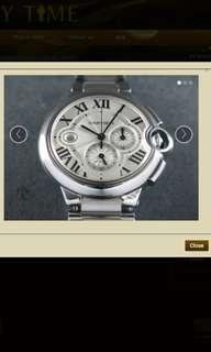CartierBallon Bleu Automatic Chronograph XL 44 mm