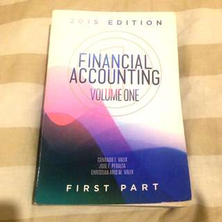 Financial Accounting (Vol. 1, 2015 Edition)