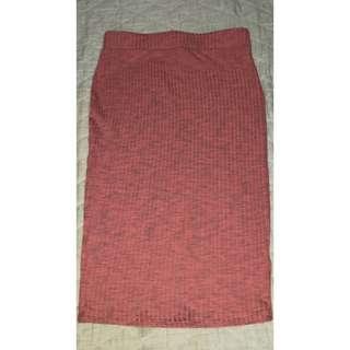 Cotton On Pink Midi Skirt
