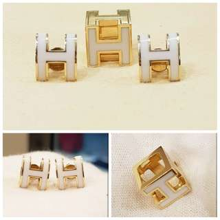 Hermes inspired earrings and pendant set 18k 14.6g ❤️BIG SALE P42k ONLY❤️ Swipe for detailed pics  Cash/card/layaway accepted