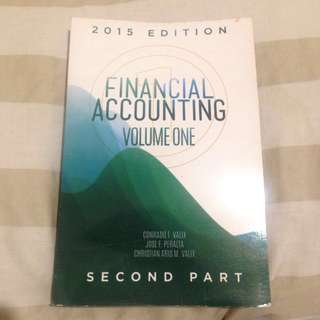 Financial Accounting (Vol. 1 Second Part, 2015 Edition) by Valix