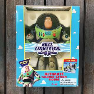 TOY STORY | Buzz Lightyear Ultimate Talking Action Figure, 1st Generation