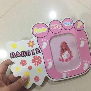 Bingkai foto barbie