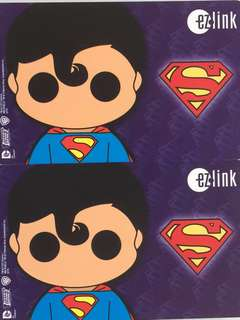 Limited Edition brand new DC Comics Superman Design Ezlink Card For $18 EACH.