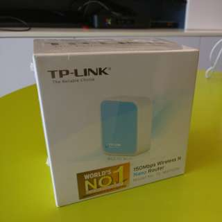 TP-LINK wireless Nano Router