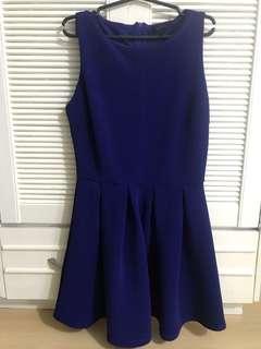 Forever 21 Blue Dress (over run)