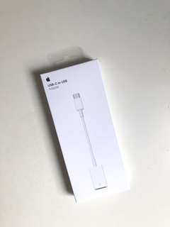 BNIB Apple USB-C to USB Adapter