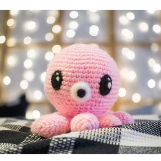 Pink Octopus from Legend of the Blue Sea Amigurumi