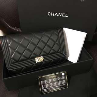 Brand New Chanel Boy WOC