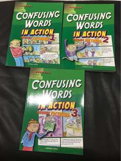 Confusing Words in Action Books 1,2,3
