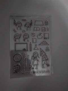 BN back to school stamp set