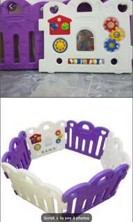Baby Play Yard (Made In Korea)with colourful balls