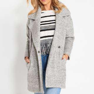 Grey Basic Instinct Coat