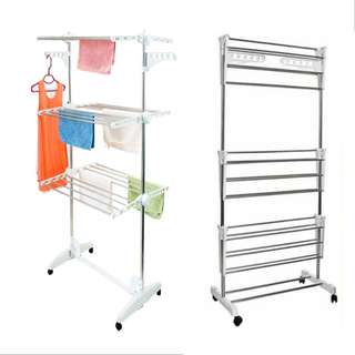 3 LAYER STAINLESS STEEL LAUNDRY STAND ( 10-267-01 )
