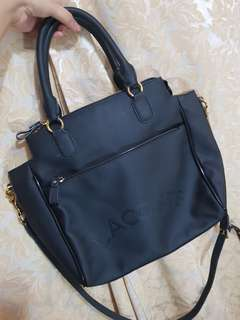 Authentic lacoste bag with sling