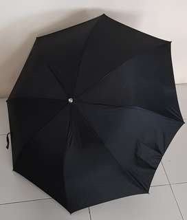 Black Foldable Umbrella