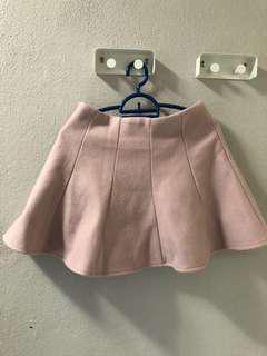 Pink mini skirt/ skort