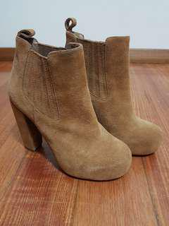 Jeffrey campbell x Nasty gal suede boots