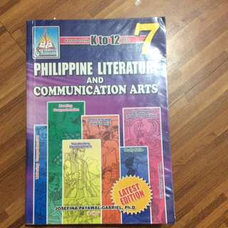 Gr 7 Philippine Literature & Communication Arts