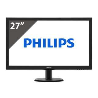 Philips 273V5LHAB LCD monitor with SmartControl Lite 27inch