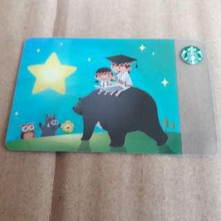 Starbucks Card台灣 星巴克 阿奈隨行卡 2018