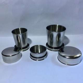 Collapsible Stainless Cup