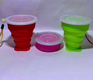 Collapsible Silicon Cup