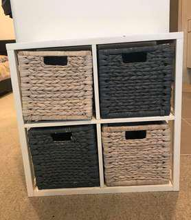 4 box storage