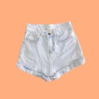 AA inspired Highwaisted Shorts