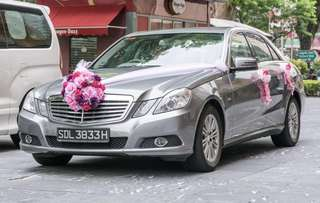 Bridal Car for Wedding with Auspicious Number