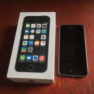 Iphone 5s 32Gb Space Grey not 6 6s 7 7s Plus +