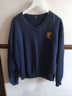 ACJC Navy jumper / sweat shirt (unisex size M)