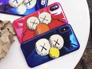 PO - 2 for $12 Sesame Street kaws iphone case