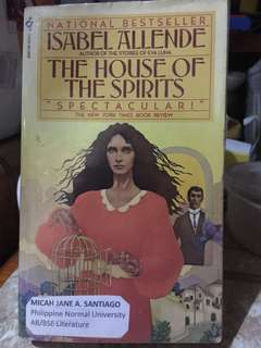 The House of Spirits Book