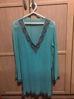 Indian styled top with embellishments