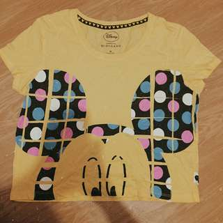 Giordano Mickey Mouse Hanging Shirt
