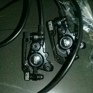 BN Shimate Hydralic Brakes