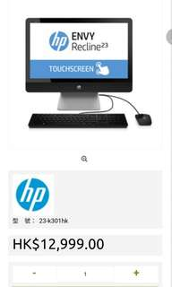 HP 23寸 ALL IN ONE 電腦