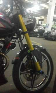 Cover Shock USD new Suzuki Thunder