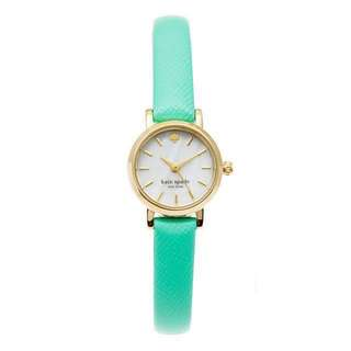 Kate Spade Tiny Metro Mint Green Watch