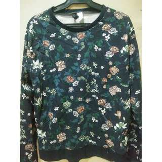 [BRANDED] H&M Floral Sweater