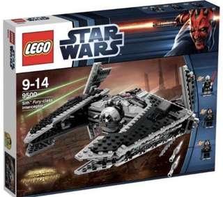 Lego 9500 Star Wars Sith Fury Class Infiltrator