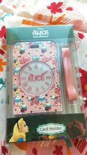 Disney Alice in wonderland 清貨系列 card holder