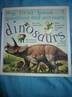 Dinosaurs - My first book of questions and answers