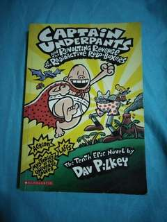 Captain Underpants #10