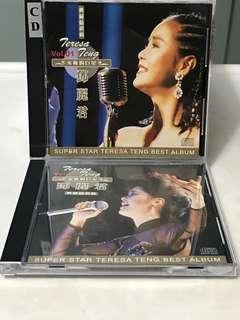 CD398 Teresa Teng 鄧丽君 - 永恒的巨星 Vol. 1 & 2