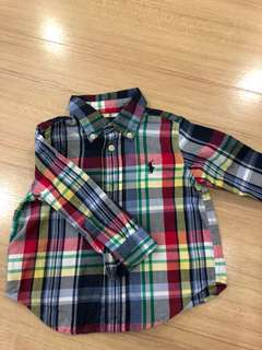Branded boy shirt