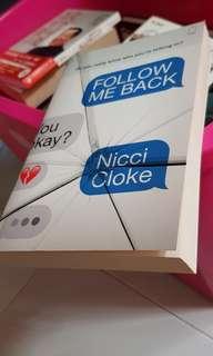 Follow me back - Nicci Cloke