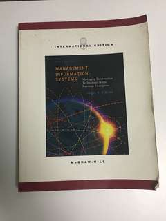 Management Information Systems, Managing Information Technology in Business Enterprise