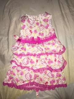 Hello Kitty Tiered Dress